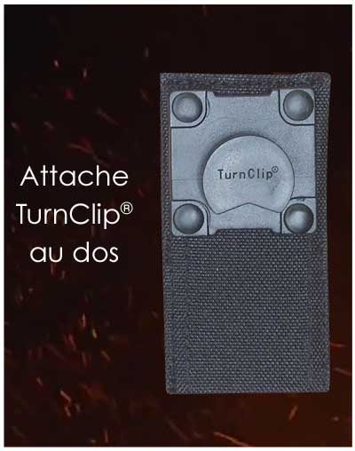 attaches Molle Turnclip